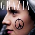 Grazia, en kiosques le 19 novembre 2015.