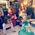 Emilie Nef Naf célèbre l'anniversaire de sa petite Maëlla, trois ans