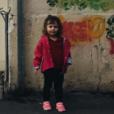 Romy, 3 ans, fille de la chanteuse Coeur de Pirate, à Marseille, en novembre 2015.