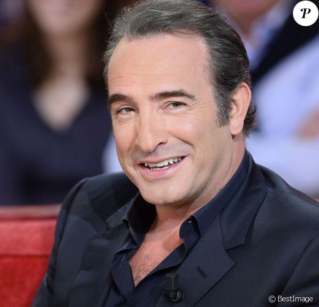 """Jean Dujardin - Enregistrement de l'émission """"Vivement Dimanche"""" à Paris le 25 Novembre 2015 et qui sera diffusée le 29 Novembre 2015."""
