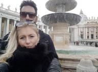 Stéphanie Clerbois : Séjour romantique avec les deux hommes de sa vie