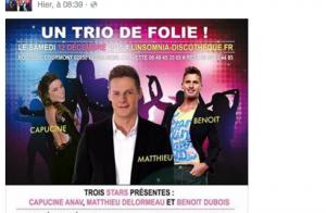 Matthieu Delormeau, Capucine Anav et Benoît Dubois réunis pour une folle nuit !