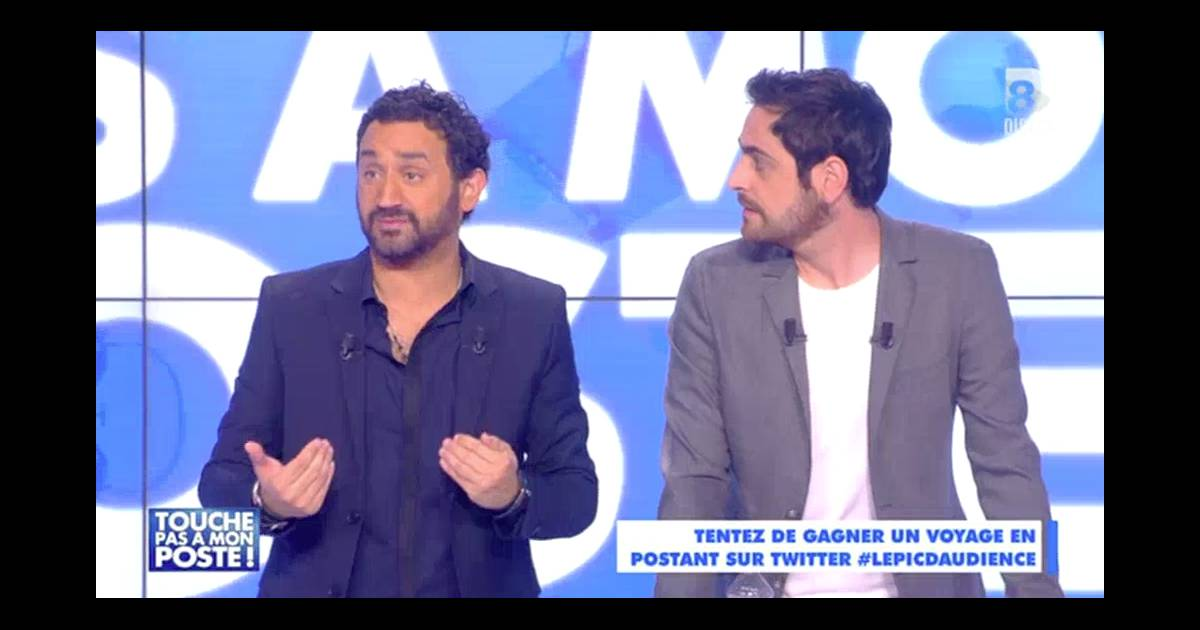l 39 animateur cyril hanouna annonce en direct que bertrand chameroy a eu un coup de fatigue dans. Black Bedroom Furniture Sets. Home Design Ideas