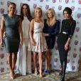 Les Spice Girls à Londres, le 26 juin 2012.