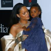 Rihanna et Majesty reines du Diamond Ball devant Kylie Jenner et Tyga, distants