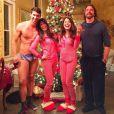 Michael Phelps et sa chérie, le 25 décembre 2015