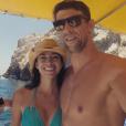 Michael Phelps et sa future femme Nicole - 2015