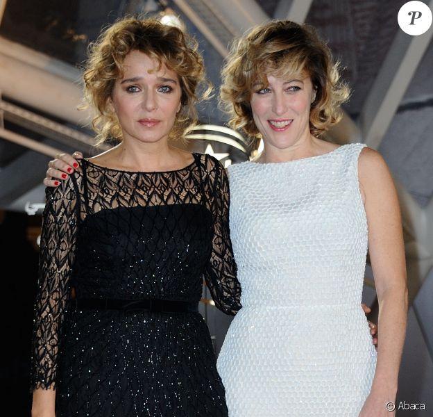 Valeria Golino et Valeria Bruni Tedeschi- Clôture du Festival du film de Marrakech le 12 décembre 2015