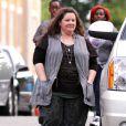Melissa McCarthysur le tournage des Flingueuses à Boston le 20 juillet 2012