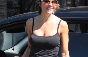 REPORTAGE PHOTO : Lisa Rinna, toujours sexy, même en tenue de gym !