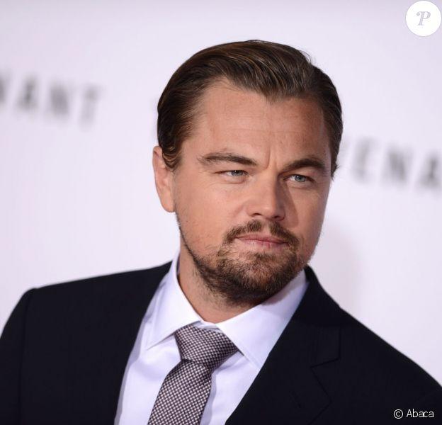 Leonardo DiCaprio à la première de 'The Revenant' au TCL Chinese Theatre à Hollywood, le 16 décembre 2015.