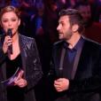 Sandrine Quétier et Laurent Ournac, dans la demi-finale de  Danse avec les stars 6 , le vendredi 18 décembre 2015 sur TF1.