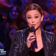 Sandrine Quétier, dans la demi-finale de  Danse avec les stars 6 , le vendredi 18 décembre 2015 sur TF1.