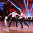EnjoyPhoenix, Yann-Alrick Mortreuil et Jean-Marc Généreux, dans la demi-finale de  Danse avec les stars 6 , le vendredi 18 décembre 2015 sur TF1.