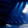 Priscilla et Christophe Licata, dans la demi-finale de  Danse avec les stars 6 , le vendredi 18 décembre 2015 sur TF1.