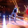 Olivier Dion et Candice, dans la demi-finale de  Danse avec les stars 6 , le vendredi 18 décembre 2015 sur TF1.