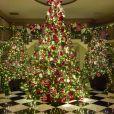 La maison de Kris Jenner, lumineuse pour les Fêtes. Photo publiée le 16 décembre 2015.