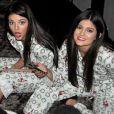 Kendall et Kylie Jenner fêtent Noël il y a quelques années. Photo publiée le 24 décembre 2015.