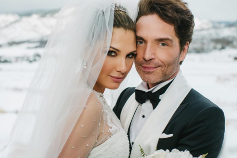 Richard Marx (Right Here Waiting) et Daisy Fuentes : Mariage de rêve à Aspen