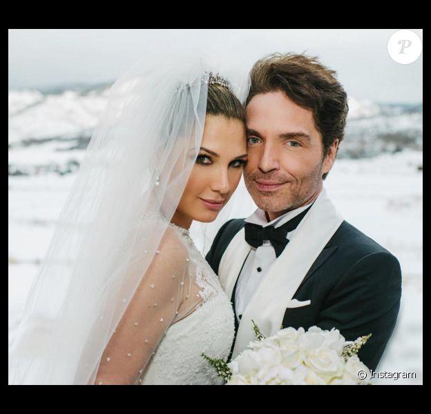 Richard Marx et Daisy Fuentes se sont mariés le 23 décembre 2015 à Aspen (Colorado). Photo Instagram Richard Marx.