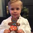 Gideon, le fils de Neil Patrick Harris et David Burtka / photo postée sur Instagram, le 25 décembre 2015.