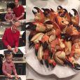 Neil Patrick Harris et David Burtka préparent à manger pour Noël / photo postée sur Instagram, le 24 décembre 2015.