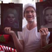 Neil Patrick Harris : Ses jumeaux terrifiants pour Noël, mais il est ravi !