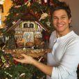 Neil Patrick Harris a offert une horloge déjanté à son mari David Burtka pour Noël / photo postée sur Instagram, le 26 décembre 2015.