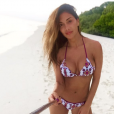 Photo Instagram de Nicole Scherzinger, en vacances aux Maldives, novembre 2015