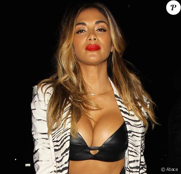 Nicole Scherzinger après une soirée au Greystone Manor de Los Angeles, le 27 août 2015