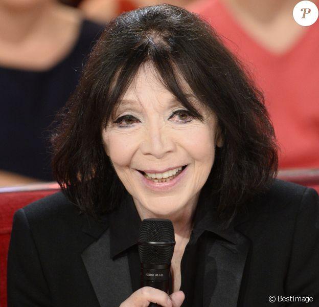 """Juliette Greco - Enregistrement de l'emission """"Vivement Dimanche"""" à Paris le 23 octobre 2013."""