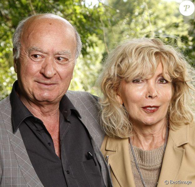 Georges et Maryse Wolinski à Paris