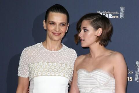 Juliette Binoche ne croyait pas du tout au César de Kristen Stewart