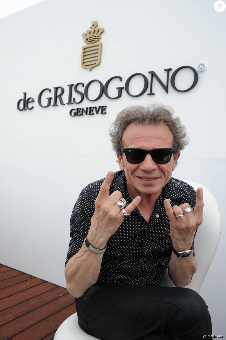 Exclusif - Rencontre avec Philippe Manoeuvre au showroom de Grisogono lors du 68ème festival international du film de Cannes le 14 mai 2015