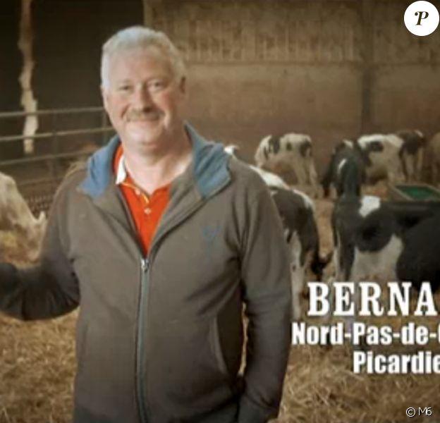 Bernard, dans L'amour est dans le pré 2016, le lundi 11 janvier 2016 sur M6.