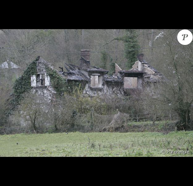 La maison de Patrick Dupond en cendres.