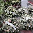 Semi-exclusif - Les obsèques de la princesse Ashraf Pahlavi, soeur jumelle du dernier Shah d'Iran (Mohammad Reza), ont eu lieu au cimetière de Monaco le 14 janvier 2016.