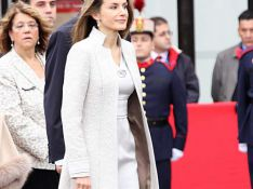 REPORTAGE PHOTO : La princesse Letizia a illuminé la fête nationale !