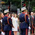 Letizia d'Espagne à la fête nationale espagnole, le 12/10/08