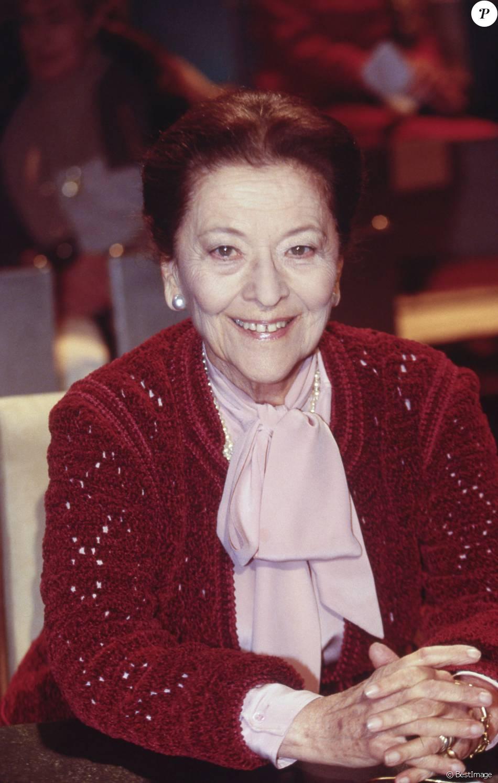 Edmonde Charles-Roux en 1995, décédée le 20 janvier 2016
