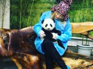Kate Hudson amoureuse d'un adorable bébé panda : Une séquence irrésistible !