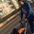 Kelly Helard : Le petit Lyam promené par son papa Neymar