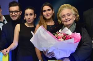 Joyce Jonathan et Maude : Concert solidaire devant Bernadette Chirac