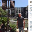 Charlotte Pirroni souhaite un bon anniversaire à Florian Thauvin sur Instagram le 26 janvier 2016.