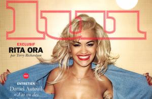Rita Ora, seins nus et bouche écarlate : Son shooting décadent pour