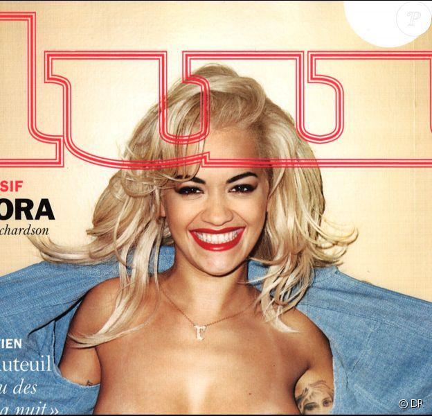"""Rita Ora par Terry Richardson pour le magazine """"Lui"""", en kiosques le 29 janvier 2016."""