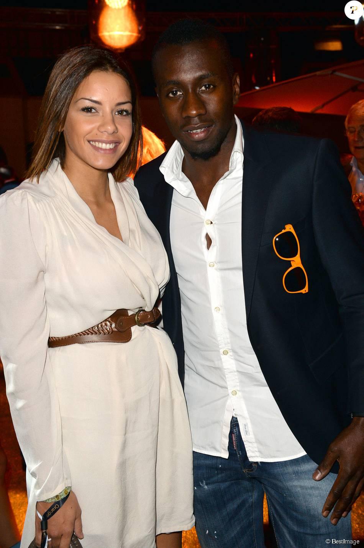 Exclusif - Blaise Matuidi et sa femme Isabelle lors du 20e anniversaire d'Orange au centre culturel alternatif Electric à Paris le 9 septembre 2014