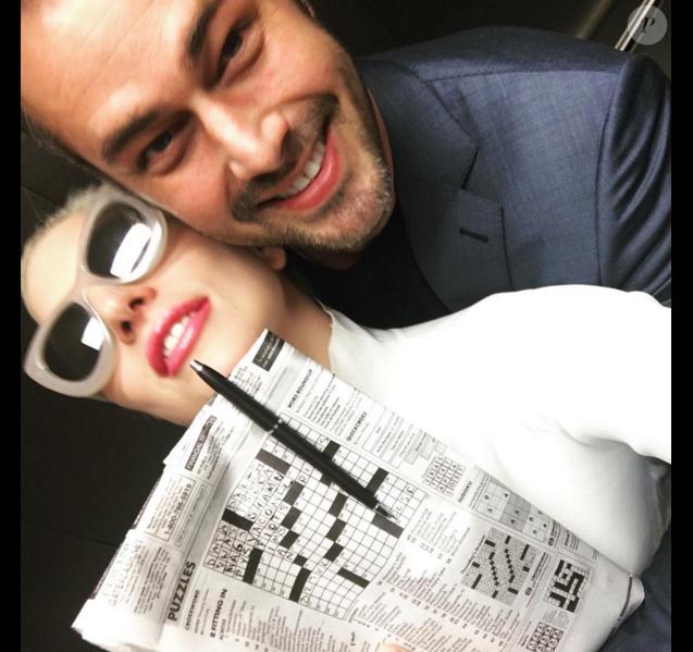 Photo de Lady Gaga et Taylor Kinney publiée le 26 janvier 2016.