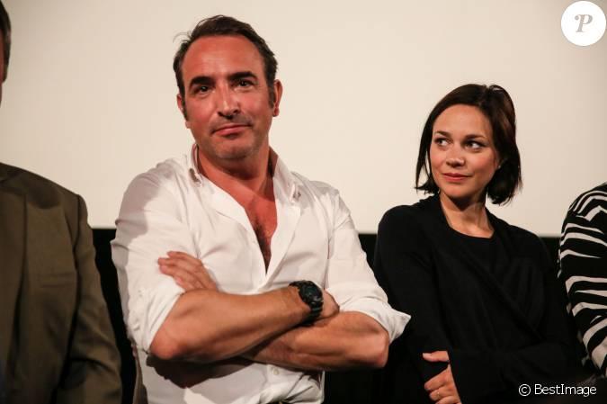 Jean dujardin et sa compagne nathalie p chalat jean for Compagne de jean dujardin