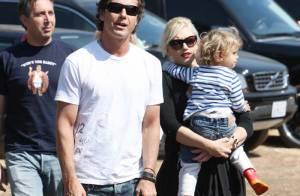 REPORTAGE PHOTOS : Gwen Stefani, son mari et leur fils Kingston sont prêts à... vous foutre la trouille !